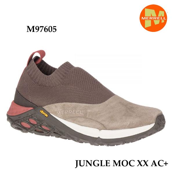 メレル M97605 26 26.5 27cm ジャングル モック エックスエックス エーシープラス Merrell JUNGLE MOC XX AC+ BOULDER メンズ アウトドア スニーカー 幅2E相当