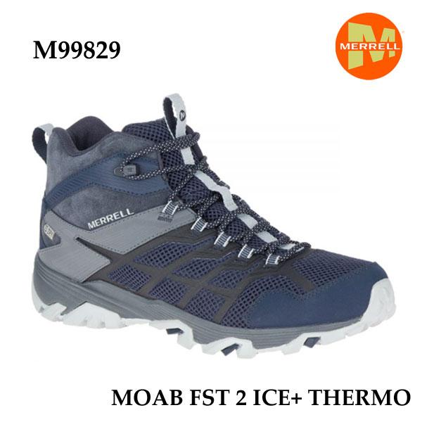 メレル M99829 モアブ FST 2 アイスプラス サーモ ネイビー Merrell MOAB FST 2 ICE+ THERMO NAVY メンズ アウトドア スニーカー