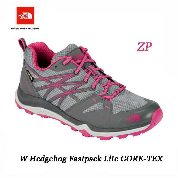 ザ ノースフェイス 24cm ウィメンズ ヘッジホッグ ファストパック ライト GORE-TEX(レディース) The North Face Womens W Hedgehog Fastpack Lite GORE-TEX (ZP)ジンクグレー×フーシアピンク nfw01525
