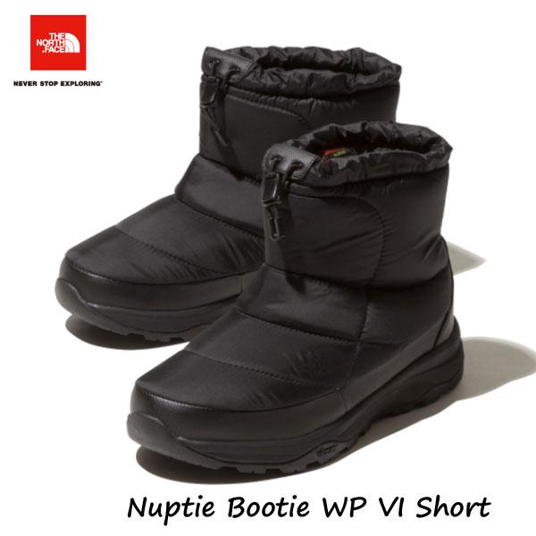 ザ ノースフェイス NF51874 K 24cm 25cm ヌプシブーティーウォータープルーフ VIショート(ユニセックス) The North Face Nuptie Bootie WP VI Short black (K)ブラック