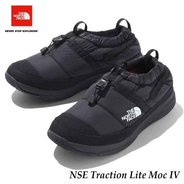 ザ ノースフェイス NF51985 KK あす楽対応 2019-20年モデル ヌプシトラクションライトモックIV(ユニセックス) TNFブラック×TNFブラック The North Face NSE Traction Lite Moc IV