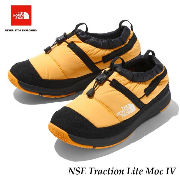 ザ ノースフェイス NF51985 YK あす楽対応 2019-20年モデル ヌプシトラクションライトモックIV(ユニセックス) TNFイエロー×TNFブラック The North Face NSE Traction Lite Moc IV