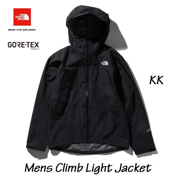 ザ ノースフェイス NP11503 (KK) クライムライトジャケット(メンズ) 2020年最新在庫  The North Face Mens Climb Light Jacket ブラック2 20D GORE-TEX