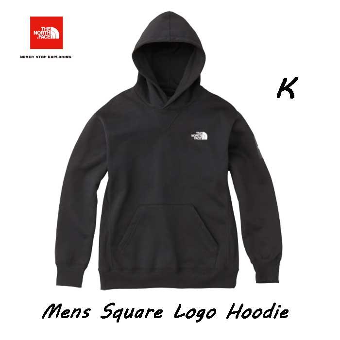ザ ノースフェイス NT61835 (K) スクエアロゴフーディー(メンズ) スウェットフーディ The North Face Square Logo Hoodie NT61835 (K) ブラック