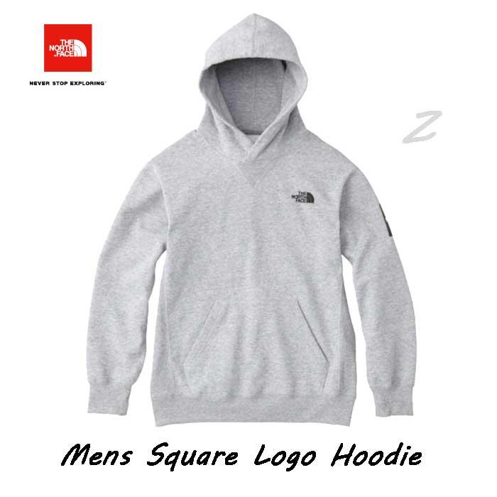 ザ ノースフェイス NT61835 (Z) スクエアロゴフーディー(メンズ) スウェットフーディ The North Face Square Logo Hoodie NT61835 (Z) ミックスグレー