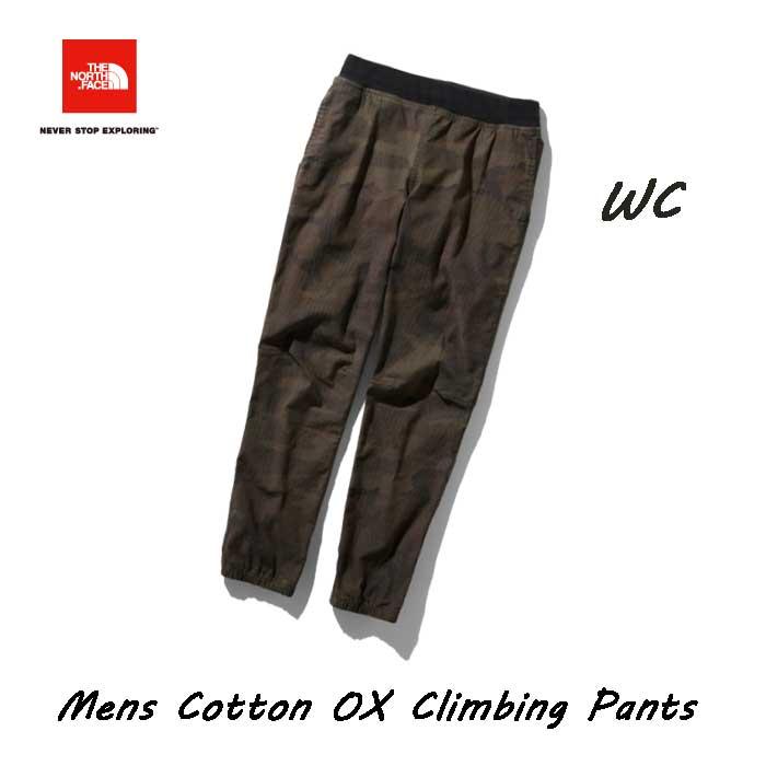 ザ ノースフェイス NB31932 (WC) コットンオックスクライミングパンツ(メンズ) The North Face Mens Cotton OX Climbing Pants NB31932 (WC)ウッドランドカモ