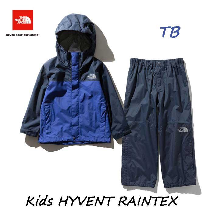 ザ ノースフェイス NPJ61915 (TB) キッズ ハイベントレインテックス The North Face Kids HYVENT RAINTEX NPJ61915 (TB)TNFブルー