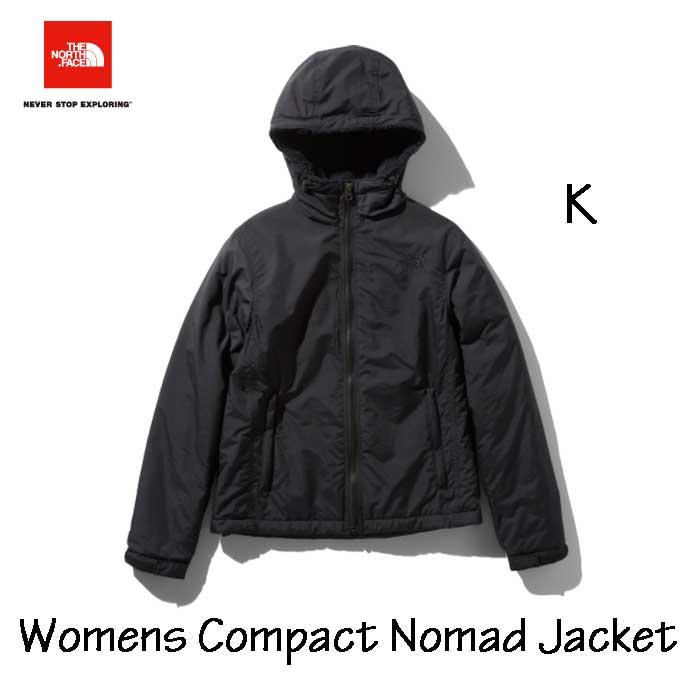 ザ ノースフェイス コンパクトノマドジャケット(レディース) The North Face Womens Compact Nomad Jacket NPW71933 (K)ブラック
