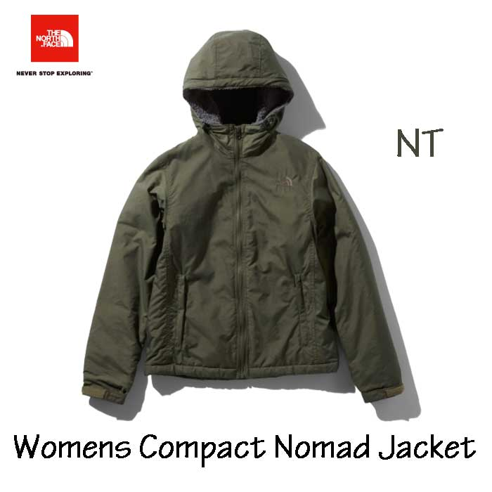 ザ ノースフェイス NPW71933 NT コンパクトノマドジャケット(レディース) The North Face Womens Compact Nomad Jacket NPW71933 (NT)ニュートープ