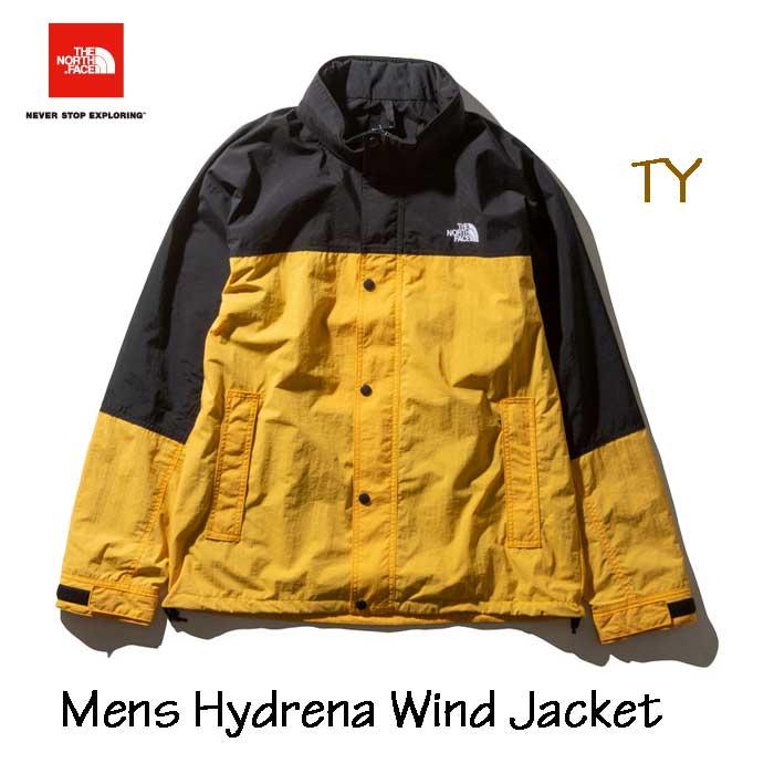 ザ ノースフェイス ハイドレナウィンドジャケット(メンズ) ウインドブレーカー The North Face Mens Hydrena Wind Jacket NP21835 (TY)TNFイエロー