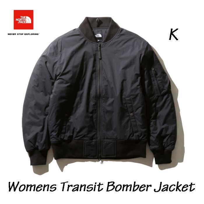 ザ ノースフェイス NYW81965 K トランジットボンバージャケット(レディース) The North Face Womens Transit Bomber Jacket (K)ブラック BLACK