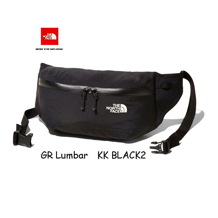 ザ ノースフェイス NM61819 (KK) ジーアールランバー GORE®FabricとYKKアクアガード®ファスナーを採用 ウエストバッグ The North Face GR Lumbar  (KK)ブラック2 BLACK 2