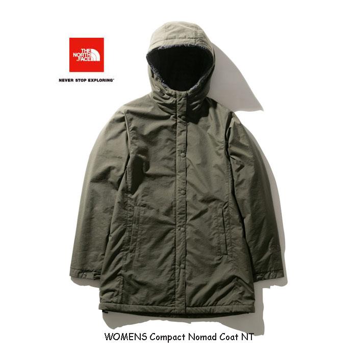 ザ ノースフェイス NPW71935 NT コンパクトノマドコート(レディース)2019年最新カラー 防風性、撥水性に優れたコート The North Face Womens Compact Nomad Coat NPW71935 NT ニュートープ