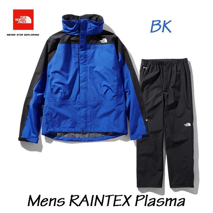 ザ ノースフェイス NP11700 BK レインテックスプラズマ(メンズ) The North Face RAINTEX Plasma (BK)TNFブルー×ブラック