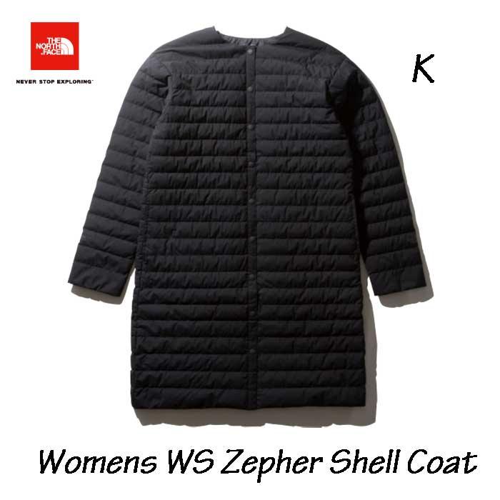 ザ ノースフェイス NDW91963 K ウインドストッパーゼファーシェルコート(レディース) The North Face Womens WINDSTOPPER Zepher Shell Coat (K)ブラック