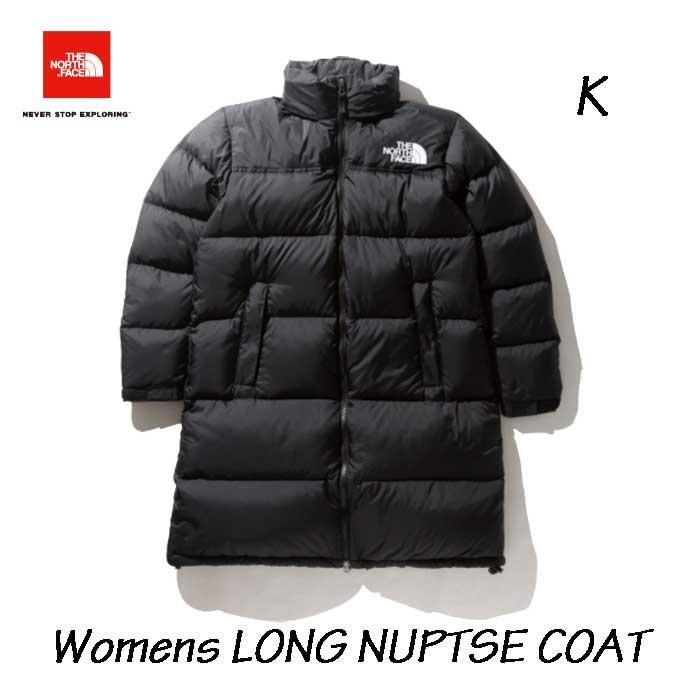 ザ ノースフェイス NDW91951 K ロング ヌプシコート(レディース) The North Face Womens LONG NUPTSE COAT (K)ブラック