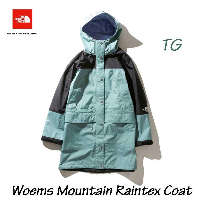 ザ ノースフェイス NPW11940 TG マウンテインレインテックスコート(レディース) THE NORTH FACE Womens Mountain Raintex Coat (TG)トレリスグリーン