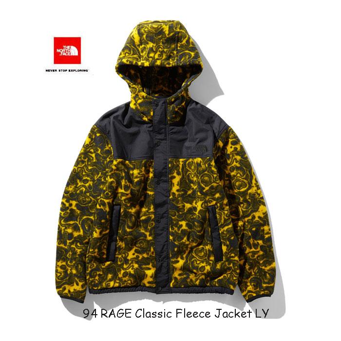 ザ ノースフェイス NL71961 LY 94レイジ クラシック フリース ジャケット(ユニセックス) The North Face 94 RAGE Classic Fleece Jacket NL71961 LY レオパードイエロー