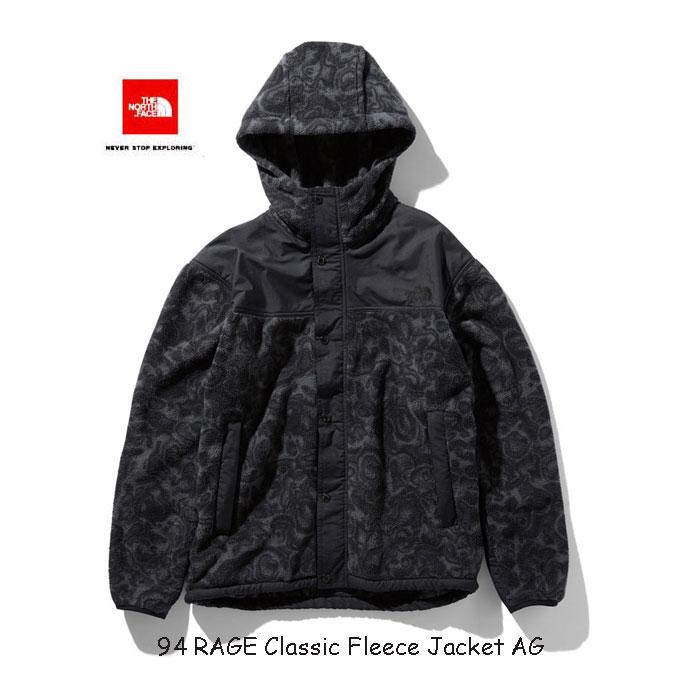ザ ノースフェイス NL71961 AG 94レイジ クラシック フリース ジャケット(ユニセックス) The North Face 94 RAGE Classic Fleece Jacket (AG)アスファルトグレー
