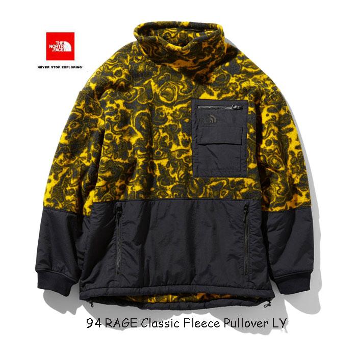 ザ ノースフェイス NL71962 LY 94レイジ クラシック フリース プルオーバー(ユニセックス) The North Face 94 RAGE Classic Fleece Pullovert (LY)レオパードイエロー