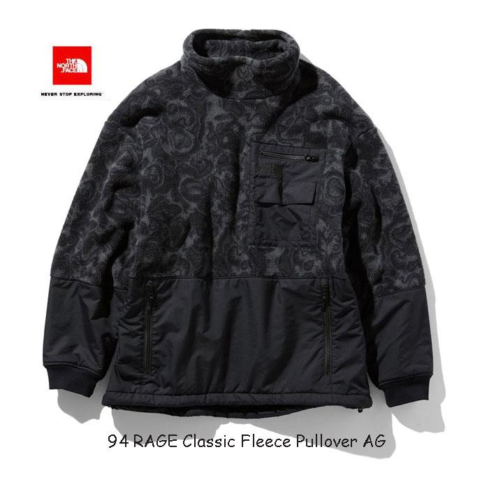 ザ ノースフェイス NL71962 AG 94レイジ クラシック フリース プルオーバー(ユニセックス) The North Face 94 RAGE Classic Fleece Pullovert (AG)アスファルトグレー