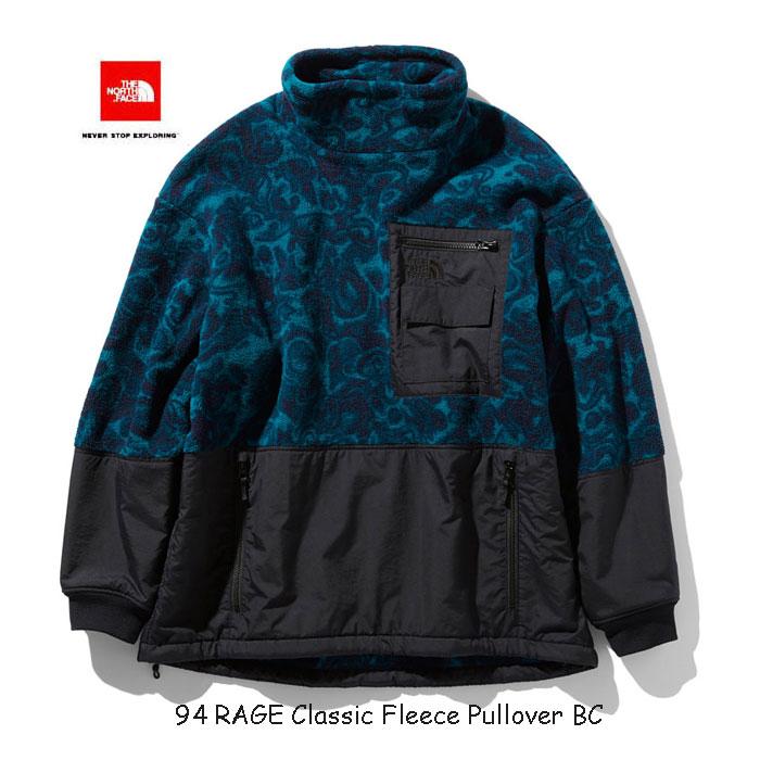 ザ ノースフェイス NL71962 BC 94レイジ クラシック フリース プルオーバー(ユニセックス) The North Face 94 RAGE Classic Fleece Pullovert (BC)ブルーコーラル