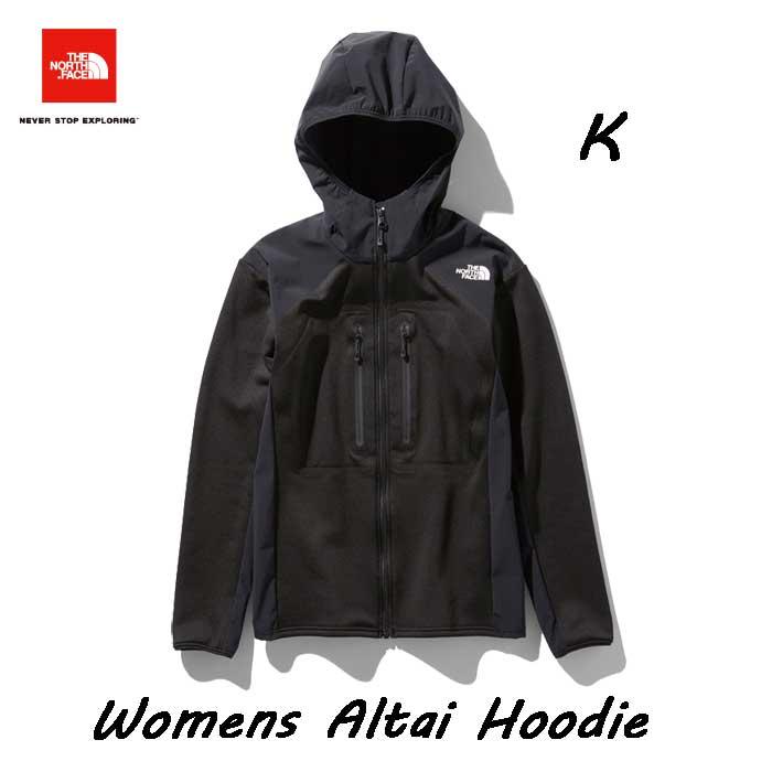 ザ ノースフェイス NLW71900 K アルタイフーディ(レディース) The North Face Womens Altai Hoodie NLW71900 (K)ブラック