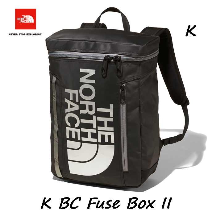 ザ ノースフェイス NMJ82000 K キッズ BCヒューズボックス 2 バックパック/リュックサック 子供用 デイパック The North Face K BC Fuse Box II (K)ブラック BLACK 21L