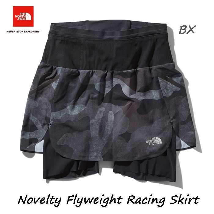 ザ ノースフェイス NBW91974 BX ノベルティフライウェイトレーシングスカート(レディース) The North Face Womens Novelty Flyweight Racing Skirt NBW91974 (BX)ブラックワックスドカモ
