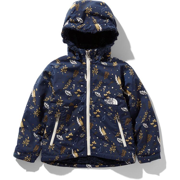 ザ ノースフェイス NPJ71857 BP キッズ ノベルティーコンパクトノマドジャケット The North Face Kids Novelty Compact Nomad Jacket (BP)ボタニカルプリント 無償修理対象日本正規品