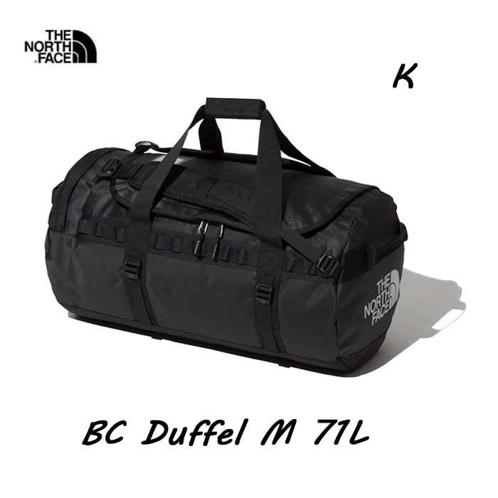 ザ ノースフェイス NM82044 (K) BCダッフル M 71L The North Face BC Duffel M NM82044 (K)ブラック BLACK
