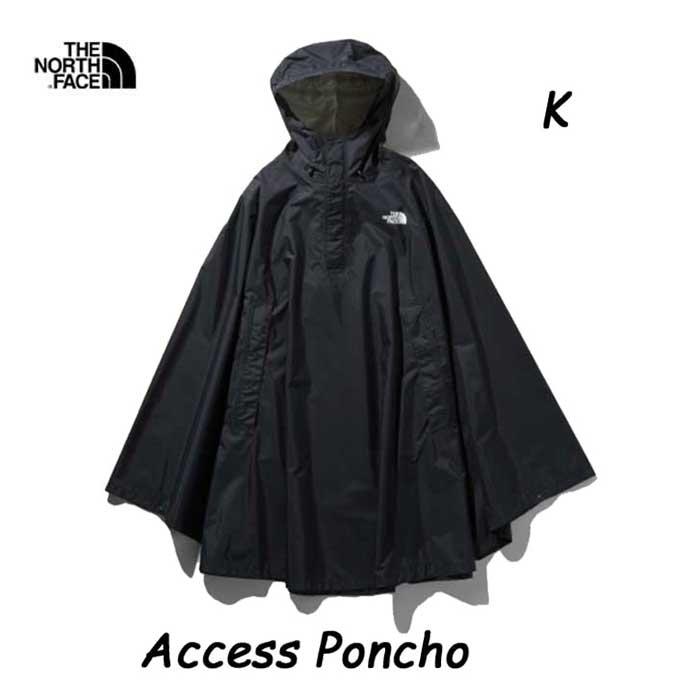 ザ ノースフェイス NP11932 K アクセスポンチョ  The North Face Access Poncho NP11932 (K)ブラック