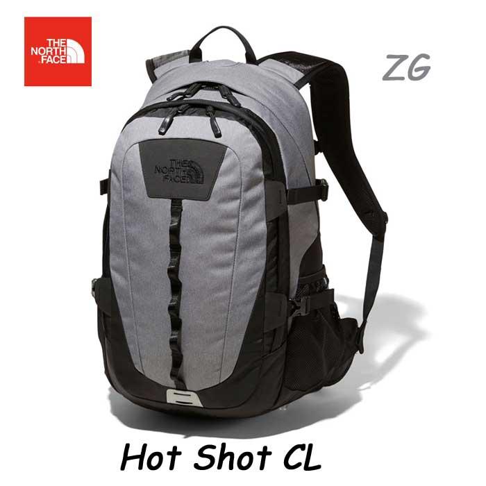 ザ ノースフェイス NM72006 ZG Hot Shot CL The North Face ホットショット シーエル 26L 送料無料 日本正規品 新入学 進級祝いにも人気です! NM72006 (ZG)ジンクグレーダークヘザー