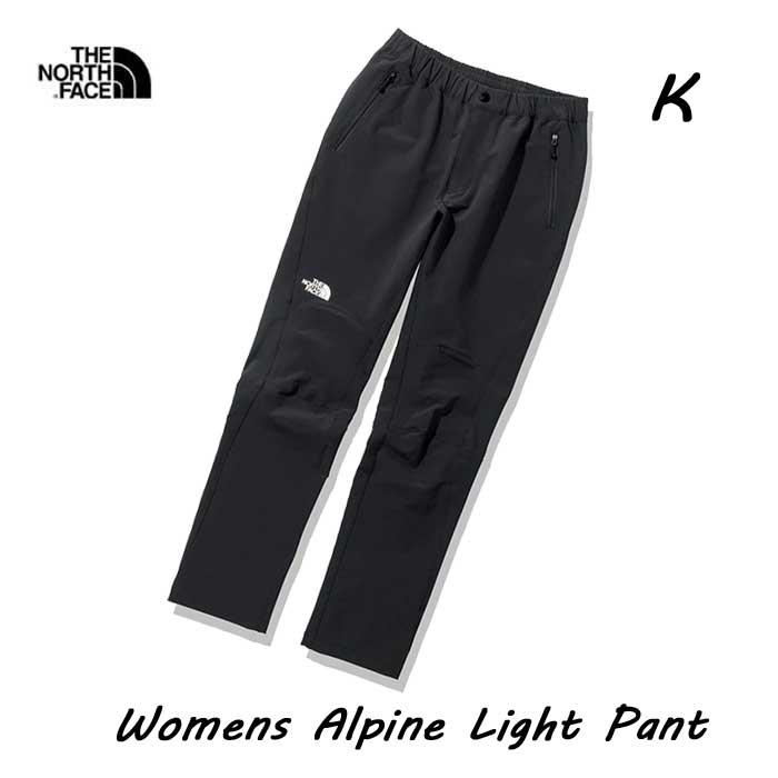 安心のノースフェースGOLDWIN公式SHOP LIST掲載店 ザ 大決算セール ノースフェイス NBW32027 K ウィメンズ アルパインライトパンツ レディース The Light North ブラック BLACK Womens Face 安い 激安 プチプラ 高品質 Alpine Pant