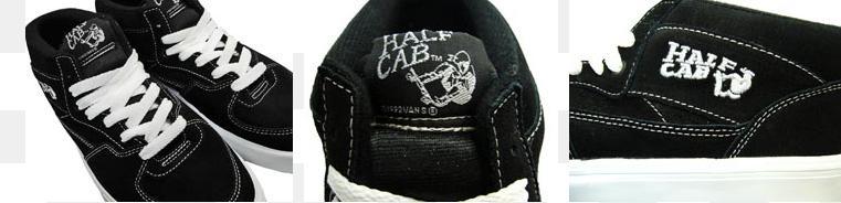 Vans Half Cab Daim Noir 9rfKci5