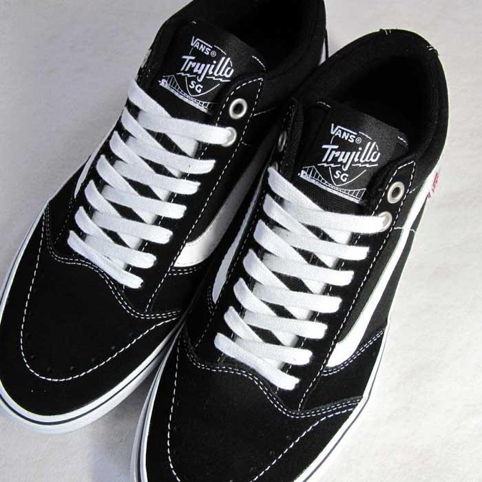 Vans for sneakers TNT SG BLACK/WHITE TRUJILLO Vans sneakers skateboarding Tony TNT VANS sneakers vans black / white