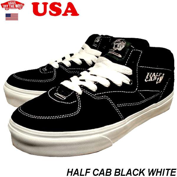 4288941cd26f apolloex  Vans half cab Black Suede VANS Half Cab black white suede ...