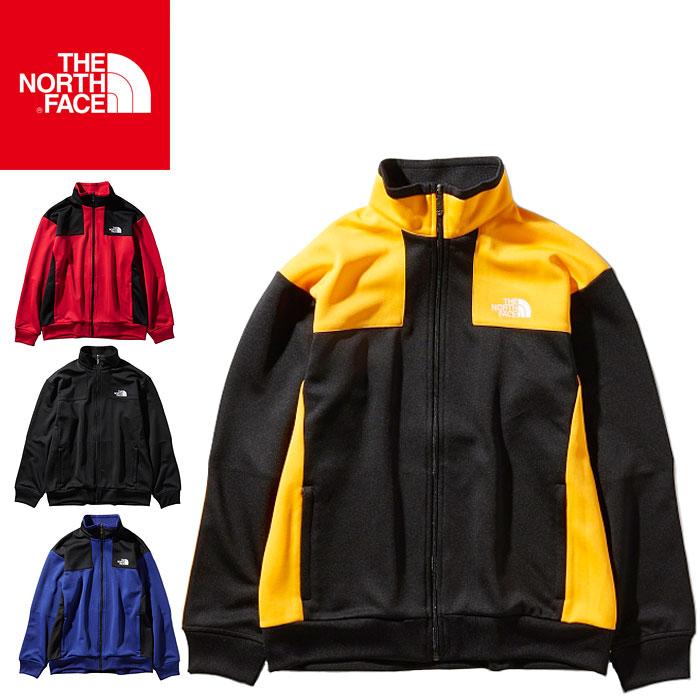 【あす楽】【即納】【ウィンターセール】送料無料 ノースフェイス ジャージージャケット メンズ 長袖 ジップ ジャージ ブラック ブルー イエロー レッド オールシーズン ウェア 男性 THE NORTH FACE Jersey Jacket NT11950