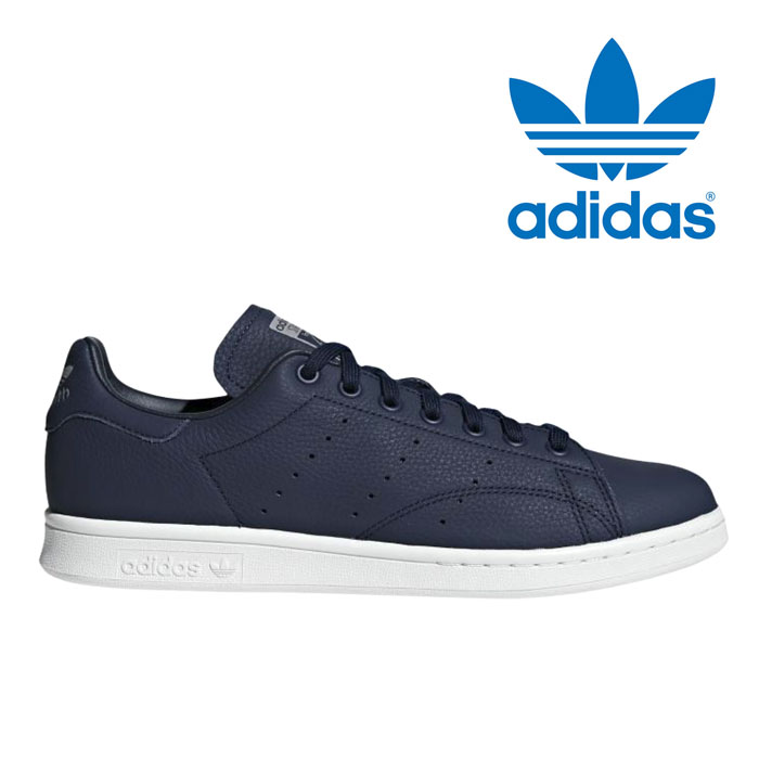 save off babda 50d7c Adidas originals Stan Smith men gap Dis sneakers leather shoes navy white  adidas originals STAN SMITH WT BD7450