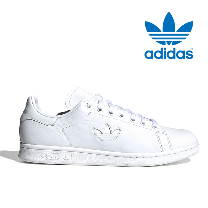 Adidas originals Stan Smith men women gap Dis sneakers shoes leather shoes  white white トレフォイルロゴ adidas originals Stansmith BD7451 2019 new work in the  ...