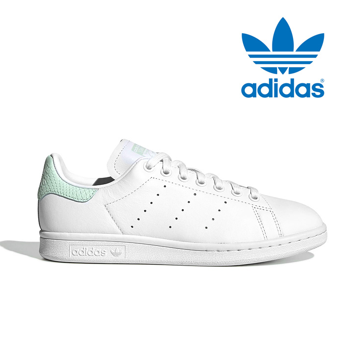 送料無料 アディダス スニーカー オリジナルス スタンスミス レディース メンズ レザー シューズ 靴 ホワイト グリーン adidas originals STAN SMITH EF6876