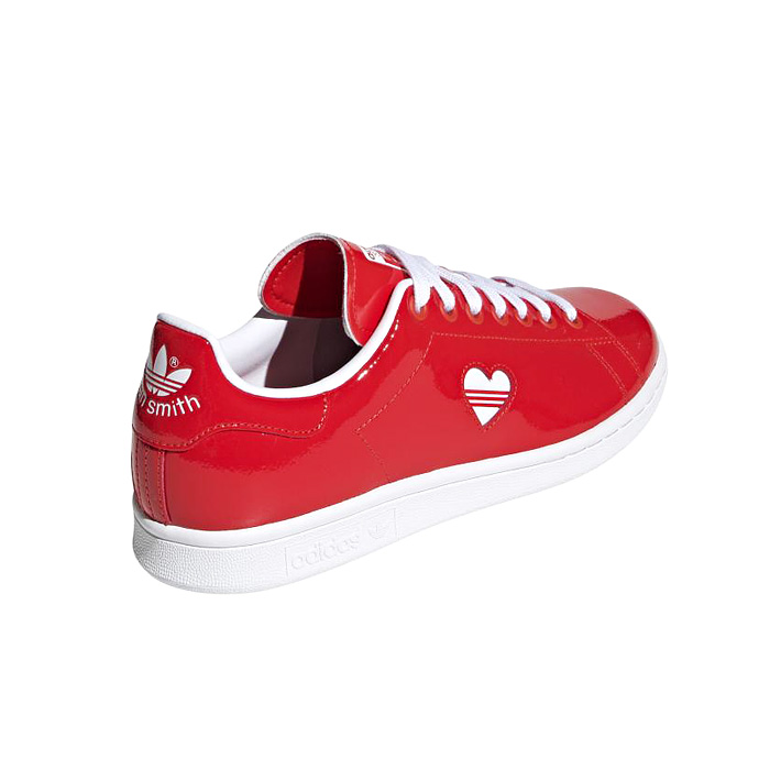 adidas Originals Stan Smith sneakers with red heart