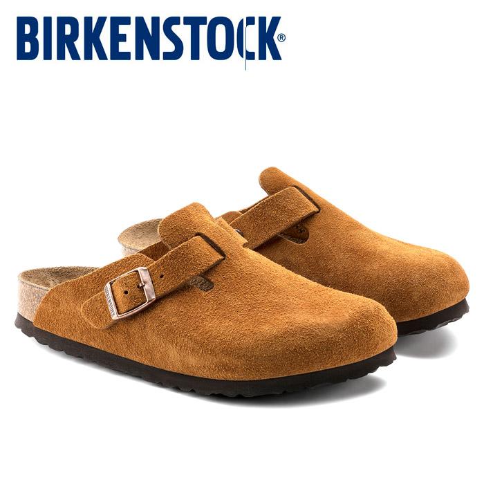 【送料無料】 ビルケンシュトック ボストン ソフトフットベッド レディース メンズ レザー スウェード クロッグサンダル コンフォートサンダル ミンク ブラウン ベストセラー 幅狭 幅広 ナロー レギュラー 靴 くつ BIRKENSTOCK BOSTON GC1009542 GC1009543