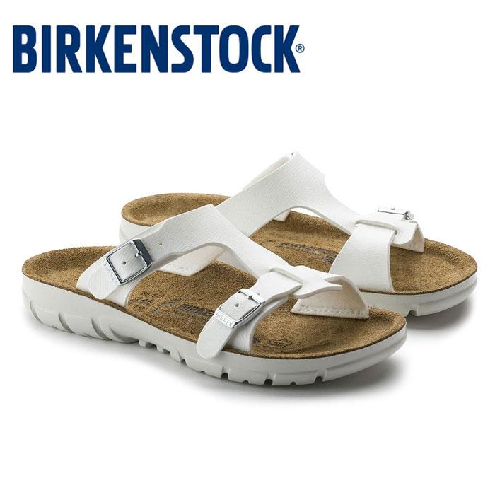 【送料無料】ビルケンシュトック Birkenstock プロフェッショナル BIRKENSTOCK SOFIA ソフィア 263133 サンダル ホワイト 白 レディース ウィメンズ 幅狭 靴 ビルコフロー 旅行 おしゃれ 楽ちん