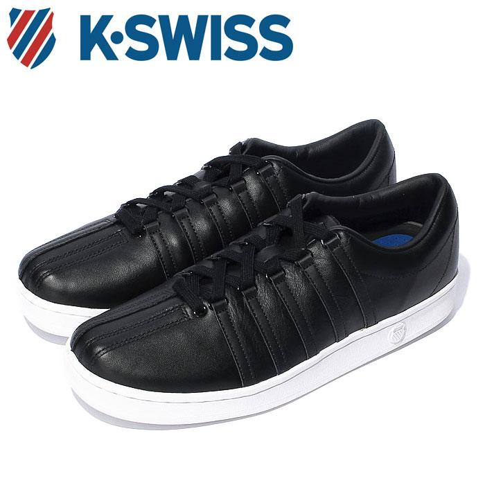 【送料無料】Kスイス ケースイス クラシック 88 メンズ レディース ウィメンズ ブラック 黒 スニーカー レザー テニスシューズ コート K-SWISS Classic 88 BLACK 36022481 靴 くつ クツ