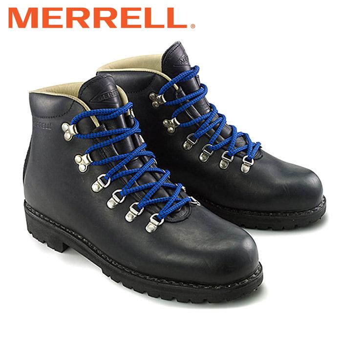 メレル ウィルダネス ブーツ メンズ レディース ウィメンズ ユニセックス マウンテンブーツ シューズ レザー 黒 ワークブーツ MERRELL WILDERNESS 靴 くつ クツ