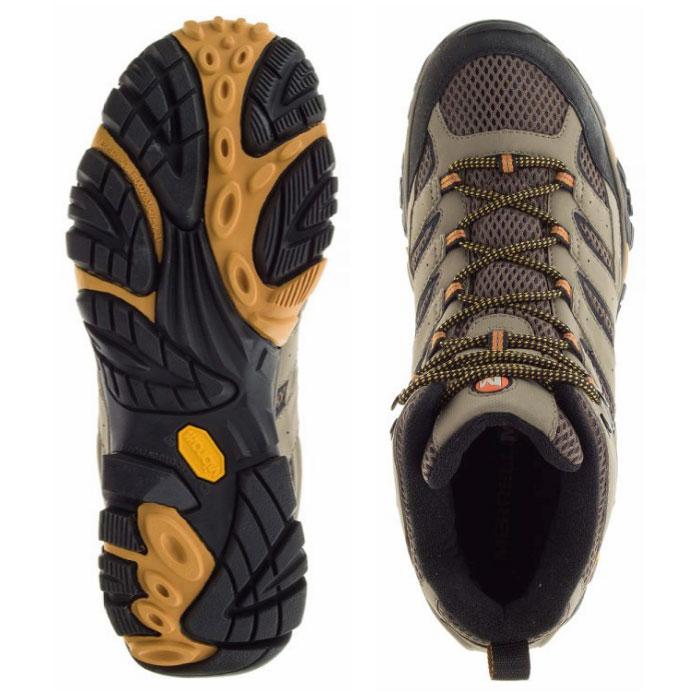 5c54c65d 靴 M06057W WALNUT ウォルナット ベージュ ハイカット トレッキング ...