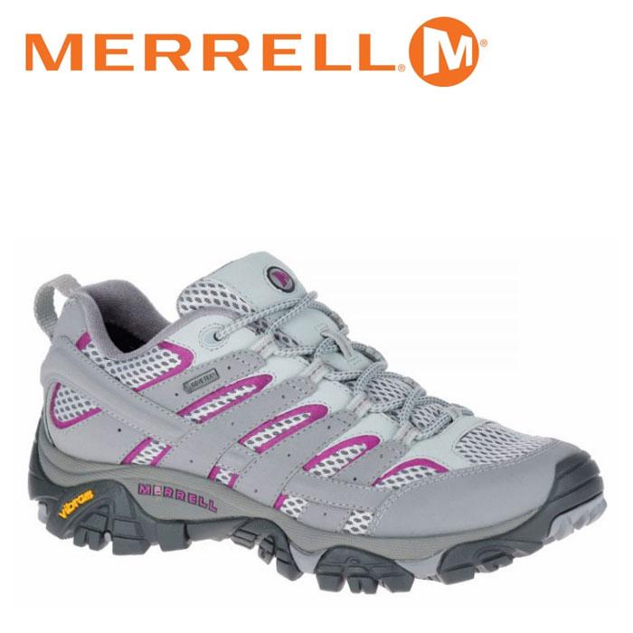 メレル MERRELL モアブ 2 ゴアテックス MOAB 2 GORE-TEX メンズ トレッキングシューズ ローカット フロスト グレー FROST GREY W06082 靴 くつ クツ