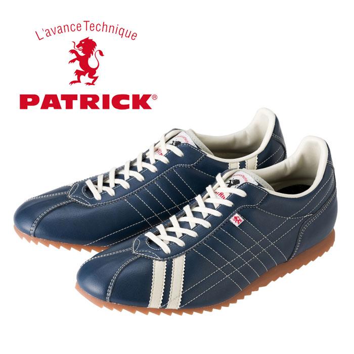 パトリック シュリー レザースニーカー メンズ レディース ウィメンズ インディゴ ネイビー 日本製 PATRICK SULLY IDG 26502 靴 くつ クツ