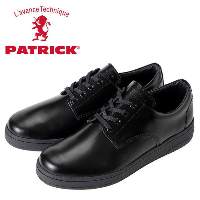 送料無料 パトリック シポー スニーカー ブラック 501821 メンズ レディース ビジネス 革靴 日本製 男性 女性 PATRICK SIPOO BLACK 靴 くつ